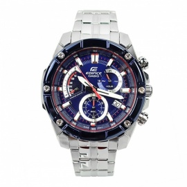 Casio Edifice EFR-559TR-2A Scuderia Toro Rosso Limited Edition Watch - Blue + Silver + Red