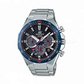 Casio Edifice EFS-S520TR-1A Scuderia Toro Rosso Solar Powered Watch - Blue + Silver + Red