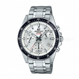 Casio Edifice EFV-540D-7A Chronograph Series Watch - Silver & Black