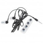 Kanen IP-109 Noise Isolation In-Ear Earphone with Microphone (3.5mm Jack/110cm Cable)