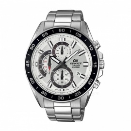 Casio Edifice EFV-550D-7A Chronograph Series Watch - Silver & Black