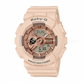 casio baby-g BA-110CP-4A modelos especiales de color reloj digital analógico - rosa