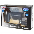 2.4GHz Wireless Waterproof Digital Camera Security Kit with 24-IR LED Night Vision