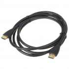 Gold Plated HDMI V1.4 A-Type Male to A-Type Male Connection Cable - Black (1.8M-Length)