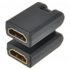 Gold Plated HDMI A-Type Female to A-Type Female Swivel Adapter/Converter