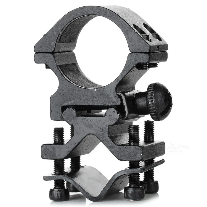 2.75-inch Flashlight and Laser Universal Gun Mount - Black