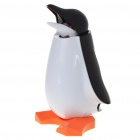 Lovely Dancing Penguin Money Coin Bank - Black + White (4 x AAA)