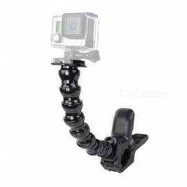 XSUNI Adjustable Gooseneck Jaws Flexible Clamp Mount Tripod for Sports Camera Gopro