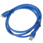 USB 3.0 AM to Micro B Male Cable (1.8M-Length)