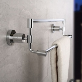 High Quality Brass Chrome Bathroom Hotel Bath Towel Bar Rack
