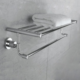 290524-CP High Quality Brass Chrome Bathroom Hotel Bath Towel Bar Rack