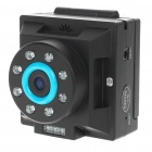HD 720P 140 Degree Lens Vehicle DVR Car Video Recorder w/ 8 Infrared LED Night Vision