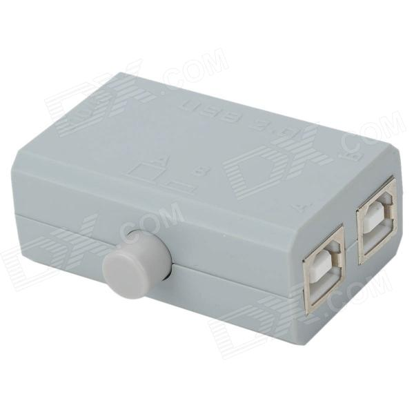 Ultra Mini USB 2.0 2-Port Sharing Manual Switch for HP/Samsung Printer