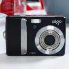 "Genuine Aigo V1220 12.0MP CCD Compact Digital Video Camera w/ 3X Optical Zoom/SD Slot (2.7"" LCD)"