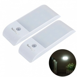 YouOKLight Portable Motion Sensing Closet Cabinet DIY Cold White Light LED Night Lights for Indoor Night Lighting, 2PCS