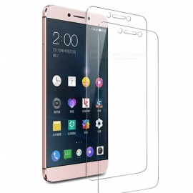 2Pcs ASLING Tempered Glass Screen Films 2.5D Arc Edge 9H Hardness for LeTV LeEco Le S3 X522