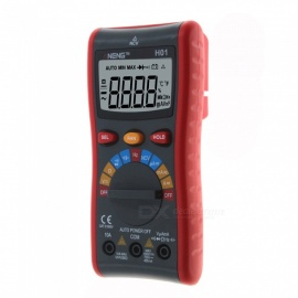 ZHAOYAO H01 True-RMS Auto Range Digital Multimeter, NCV Ohmmeter, AC/DC Voltage Ammeter Current Meter