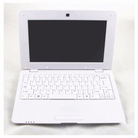 "VIA8880 10"" Windows 8 Single Core Laptop A9 CPU 1024MB Android 4.2 WiFi 802.11 A/b/g Laptops White"