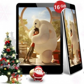 9 pollici IPS Android 4.4 quad-core A33 tablet cortexa7 1.2ghz con 1GB di RAM 16 GB ROM, 4000mAh batteria, 19 MP + 0,3 MP nero