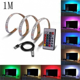 USB 1 Meter TV Background 5V RGB 5050-60LED Waterproof Light