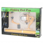 Fish-Everywhere Pocket Pen Style Fishing Rod and Reel Kit (Extended Length 80CM)