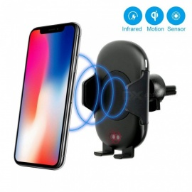 Measy C10 Wireless Car Charger Mount, Qi Wireless Fast Charger Stand, Automatic Open & Clamp Car Air Vent Phone Holder