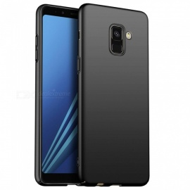 Naxtop PC Hard Protective Back Case for Samsung Galaxy A8+ (2018) - Black