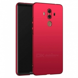 Naxtop PC Hard Protective Back Case for Huawei Mate 10 Pro - Red