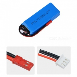 7.4V 1300mAh 30C 2S Li-Po Battery with JST Plug for JJRC X1 and X1G Quadcopter Spare Part Battery
