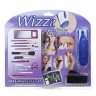 Wizzit Electric Body Hair Remover Trimmer Tweezers Epilator w/ Manicure Set (2 x AAA)