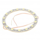 2.25W 15-LED 5050 SMD LED Car Angel Eye Light Ring