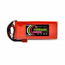 HJ POWER 1PCS 7.4V 25C 1500mAh Model T High Lipo Battery for RC Helicopter Quadcopter Drone