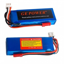 GE POWER 7.4V 30C 900 mAh model JST high lipo baterie pro RC vrtulník quadcopter drone