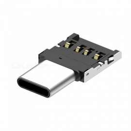 mini USB for å skrive C OTG konvertere kontakt, hurtig lading adapter (2 PCS)