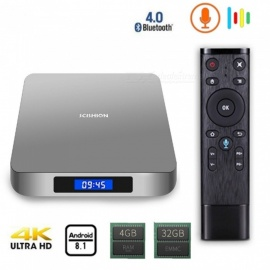 AI ONE android 8,1 smart TV-box med 4 GB RAM, 32 GB ROM - EU-kontakt