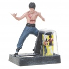 Solar Powered Bruce Lee Aktion Display Bild