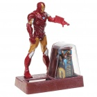 Solar Powered Iron Man Action Display Figure