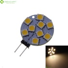 G4 1.65W 40lm 9x5050 SMD LED 3200K Warm White Light Car Bulb (DC 12V)