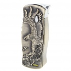 Eagle Pattern Butane Jet Torch Lighter with Folding Knife
