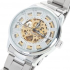 Stainless Steel Self-Winding Mechanical Wristwatch