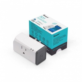 SONOFF S31 wifi mini plug APP afstandsbediening timing smart socket thuis EU / US plug 90 ~ 264 V AC, 50/60 HZ (V) ONS plug / wit