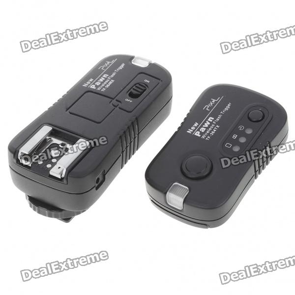 TF-364 16-CH Wireless Flashgun Trigger for Panasonic DMC-FZ50/Olympus E520 + More rs3008 wired shutter release for panasonic lumix dmc fz20 fz30 fz50 lc1 1m cable