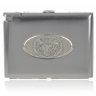 2-in-1 Cigarette Case with Butane Lighter - American eagle (Holds 20 Cigarettes)