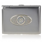 2-in-1 Cigarette Case with Butane Lighter - Buick (Holds 20 Cigarettes)