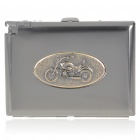 2-in-1 Cigarette Case with Butane Lighter - Harley (Holds 20 Cigarettes)