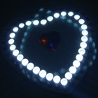 68-LED Heart Shaped Camping Lamp