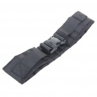 Military Tactical Outdoor Nylon Cloth Belt (Black)