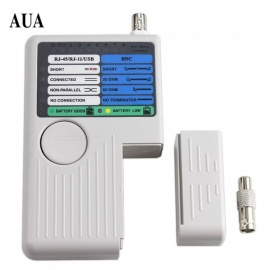 ZHAOYAO Remote RJ11 RJ45 USB BNC LAN Network Cable Tester for UTP STP LAN Cables Tracker Detector