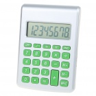 """Water Powered"" 2.3"" LCD 8-Digit Calculator"