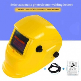 HakkaDeal WN-107B Welding Helmet, Automatic Replacement Welding Mask Head Band - Yellow